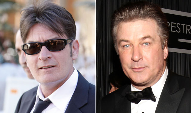Charlie Sheens Brother Alec Baldwin to Charlie Sheen