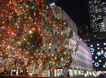 Rockefeller center lights up