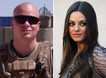 Mila Kunis asked out by a Marine Sgt. She says Yes