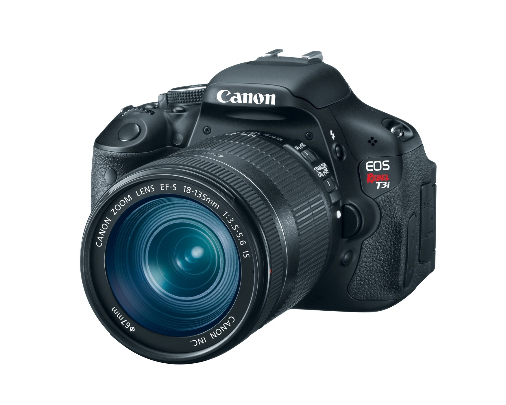 Canon EOS Rebel T3i (EF-S 18-55mm f/3.5-5.6 IS Lens ...