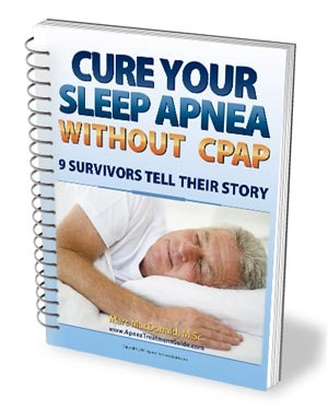 how to sleep without cpap machine