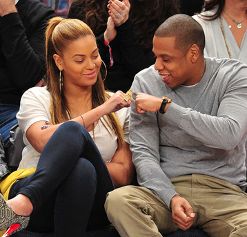 Beyonce and Jay-Z Travel Separately on Tour