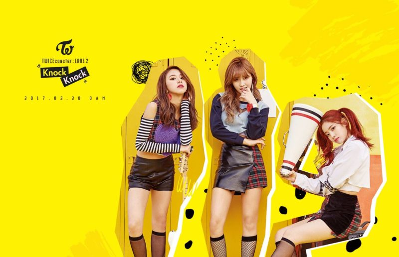 K-Pop Girl Group TWICE New 'Knock Knock'